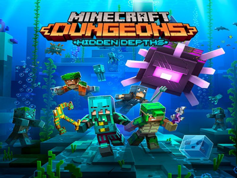 Download Minecraft Dungeons Game PC Free
