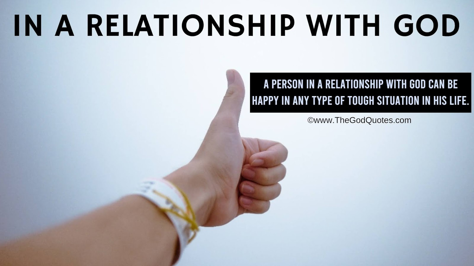 In A Relationship With God Quotes