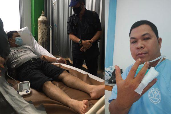 Diduga, Ada Oknum Terlibat Aniaya Wartawan di Bengkayang, Jari Wartawan Putus di Gigit Pelaku