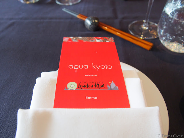 Aqua Kyoto Luxury Sushi Bottomless Brunch Adventures of a London Kiwi