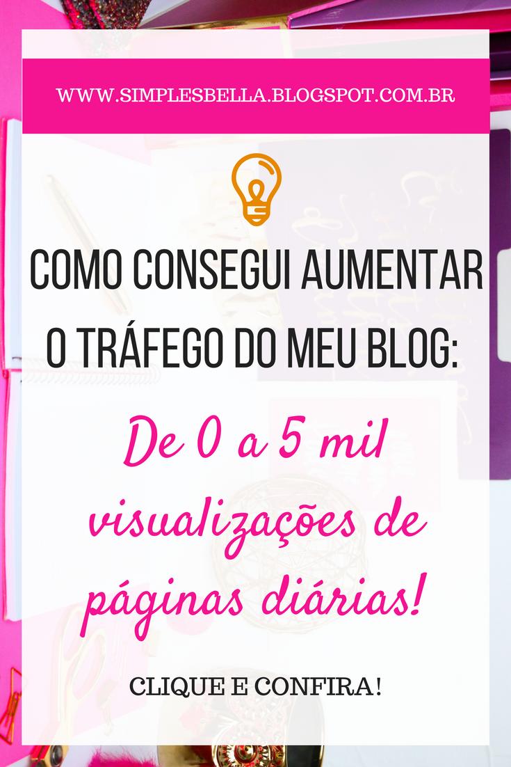 Como aumentar as visitas de um blog, como conseguir mais acessos em meu blog.