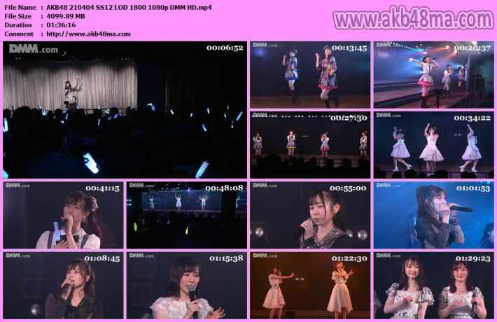 AKB48 210404 SS12 LOD 1800 1080p