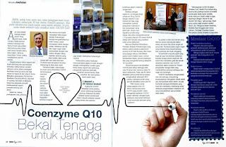 coq10 baik untuk kesihatan jantung