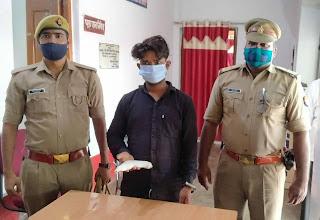 अवैध तमंचे के साथ आरोपित गिरफ्तार   #NayaSaberaNetwork