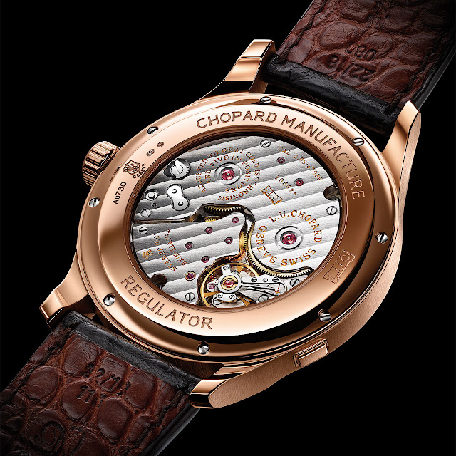 Chopard L.U.C Regulator Mechanical Hand-wound Watch