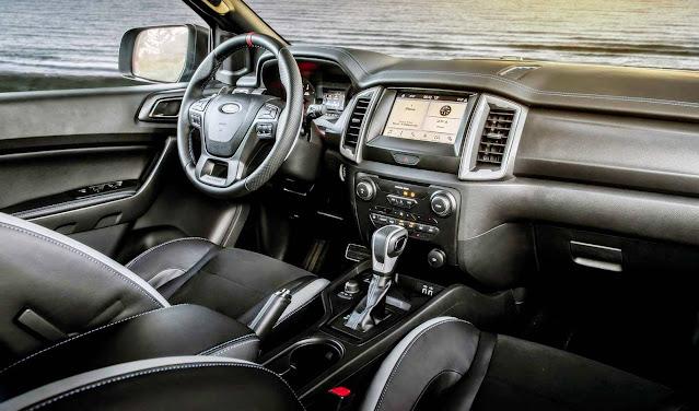 2021 Ford Ranger Raptor V8 Interior