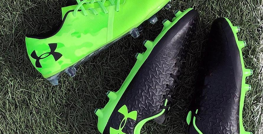 c7525041779d UA Magnetico Pro FG Firm Ground Soccer Cleat - Black/Lime Light Buy now.  Shop now at the USA's premier Soccer shop
