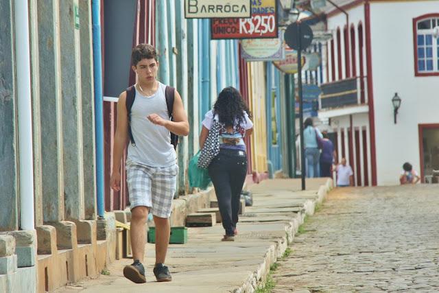 Pelas ruas de Mariana