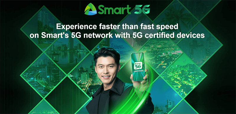 Smart deployed 5G sites outside of Metro Manila, starts nationwide rollout