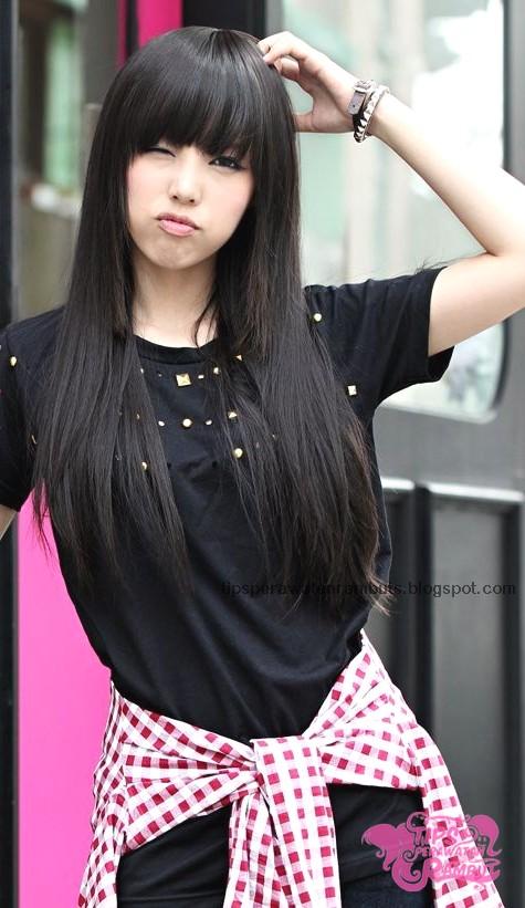 40+ Model Potongan Rambut Wanita ala Korea
