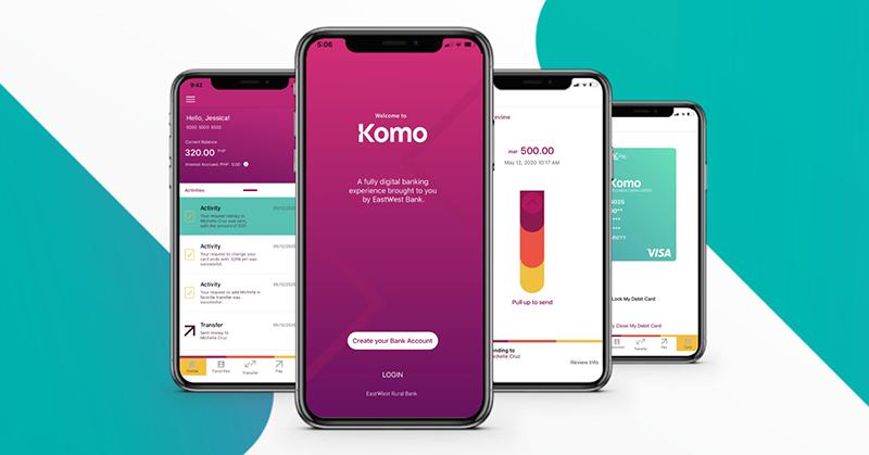 Komo as a digital app for banking