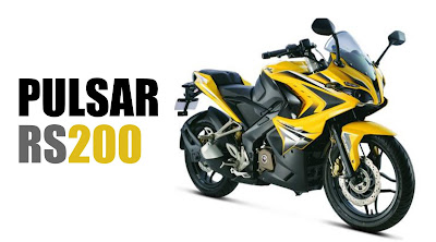 Bajaj Pulsar RS 200 Yellow HD Wallpapers