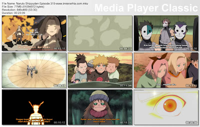 "Download Film / Anime Naruto Episode 315 ""Salju yang Tersisa"" Shippuden Bahasa Indonesia"