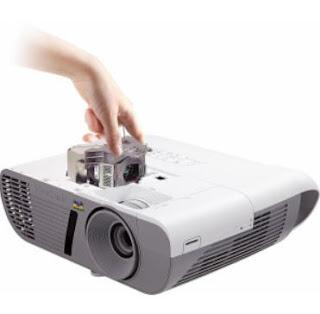 Cambio lampada videoproiettori