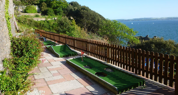 Crazy Golf at The Imperial Hotel in Torquay, Devon