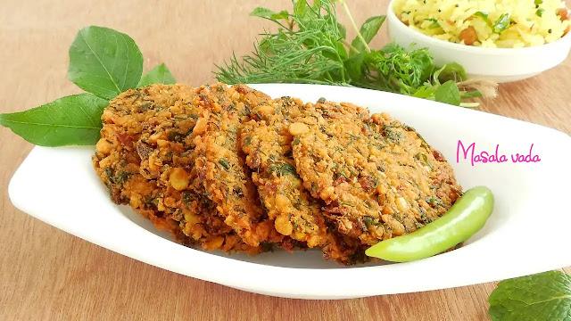 Delicious veg masala vada recipe at home