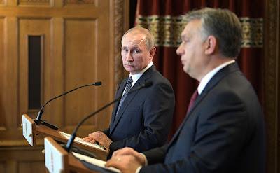 Vladimir Putin, Prime Minister Hungary - Viktor Orban.