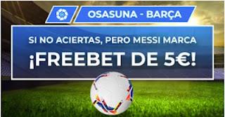 Paston promo Osasuna vs Barcelona 6 marzo 2021