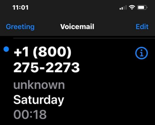 800-275-2273 Apple scam? Here is what to do