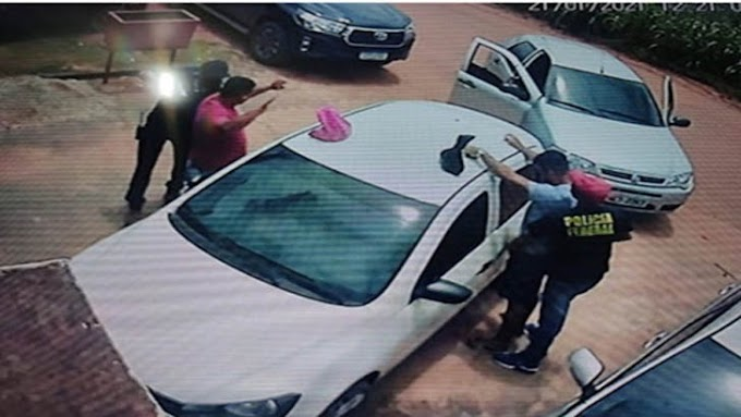 Em ação ousada bandidos usando uniforme da PF levam 90 mil reais em assalto