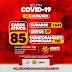 Jaguarari registra um óbito e 03 novos casos de coronavírus no Boletim deste sábado (01/05)