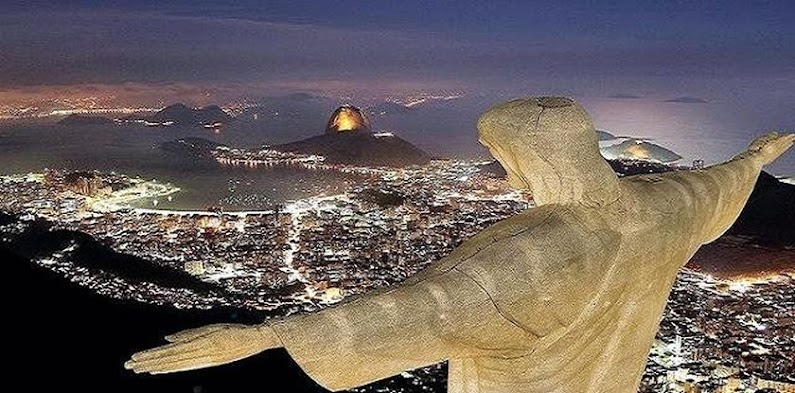 Christ the Redeemer in Brazil.