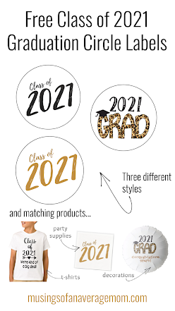 free 2021 graduation party printables