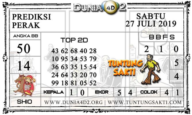"""Prediksi Togel """"PERAK"""" DUNIA4D2 27 JULI 2019"""