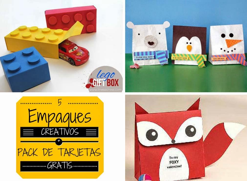 5 empaques creativos para envolver tus regalos pack de - Regalos creativos para navidad ...
