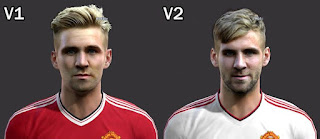 Face Luke Shaw Pes 2013
