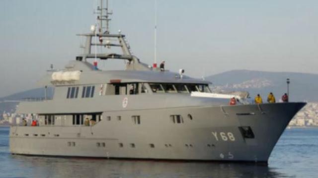 O Ερντογάν μετέτρεψε σκάφος του Πολεμικού Ναυτικού σε θαλαμηγό