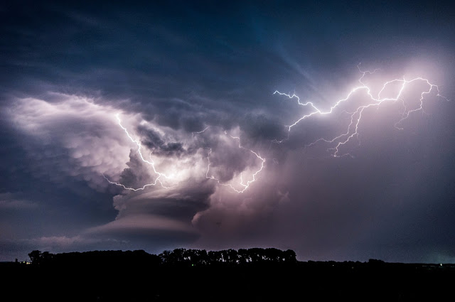 Lightning Storm over Nebraska