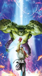 Hulk Vs Anime Guy Mobile HD Wallpaper