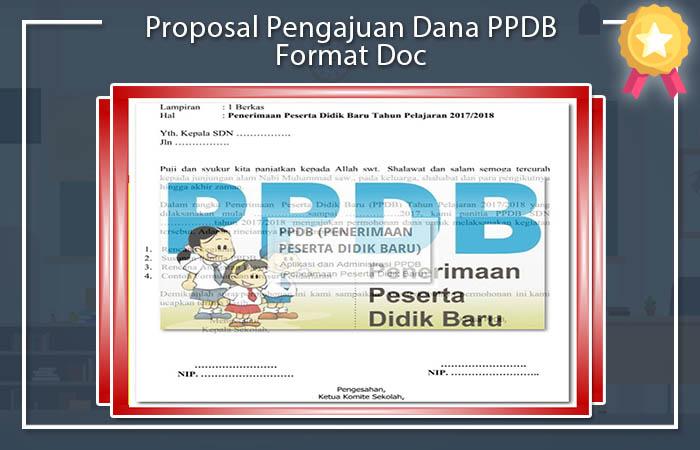 Proposal Pengajuan Dana PPDB Format Doc