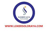 Loker Solo Raya di Sumber Jaya Toys Store Accounting, Admin Hutang, Desain Grafis
