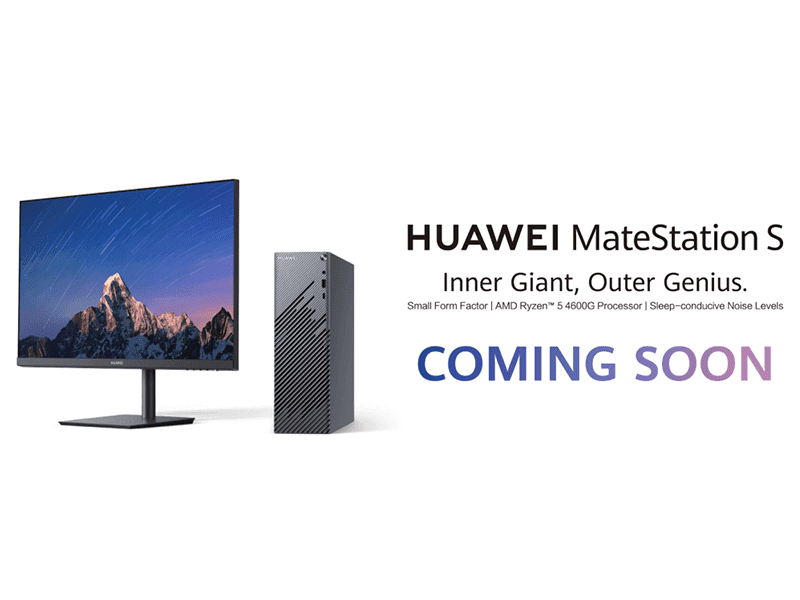 Could it be the Huawei MateStation S?