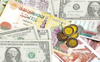 اسعار العملات الاجنبية أمام الجنية بالبنوك المصرية والأجنبية اليوم الأحد