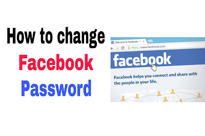 How to change Facebook password and make it private