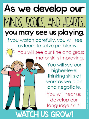 benefits of play poster