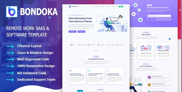 Best Remote Work Software Agency Template