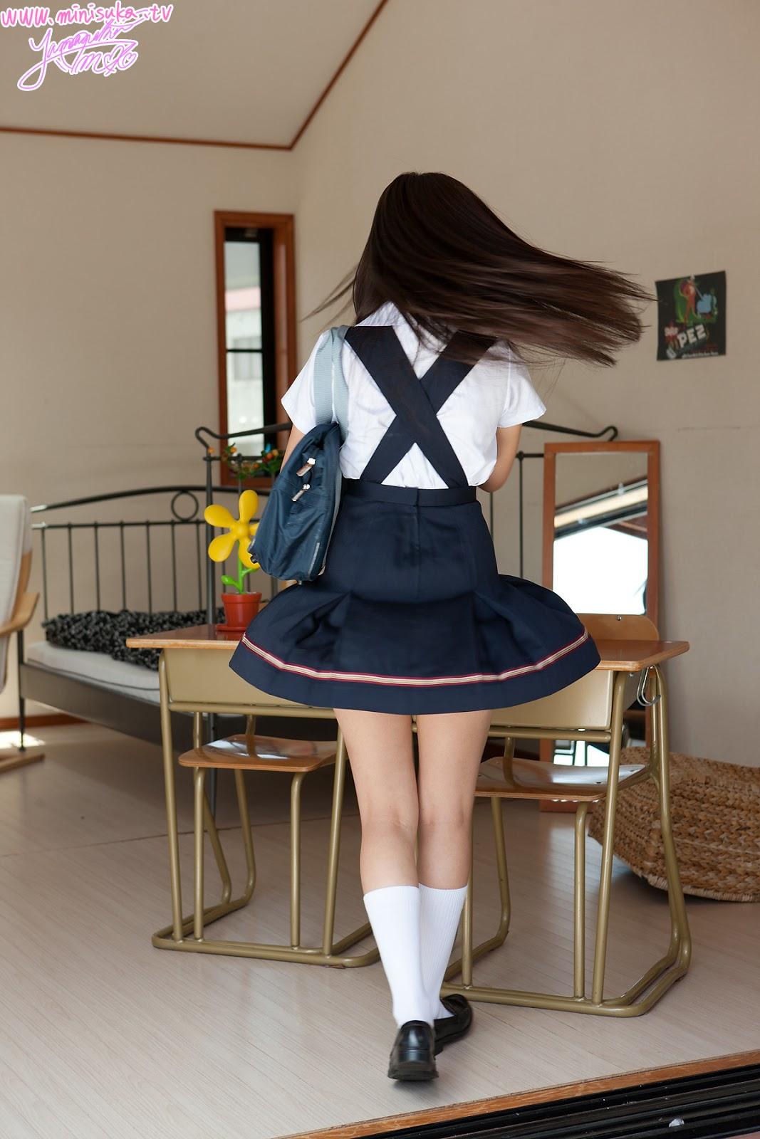 Japanese Sexy Black White Transparent Mesh School Uniform