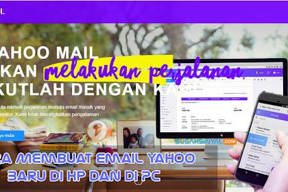 Cara Membuat Email Yahoo Baru di Hp dan di PC Terlengkap