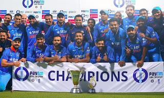 England tour of India 3-Match ODI Series 2016/17