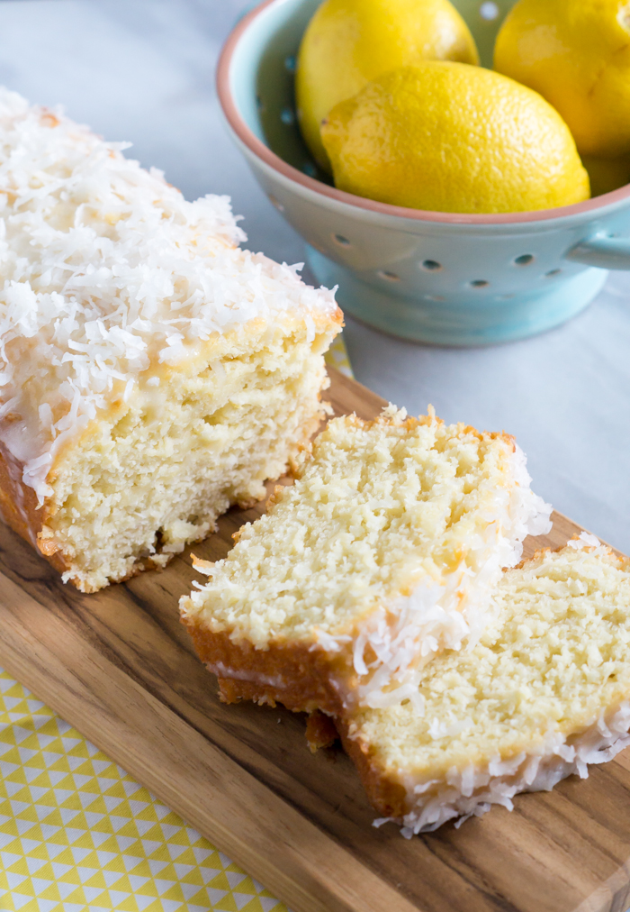 lemon coconut quick bread recipe