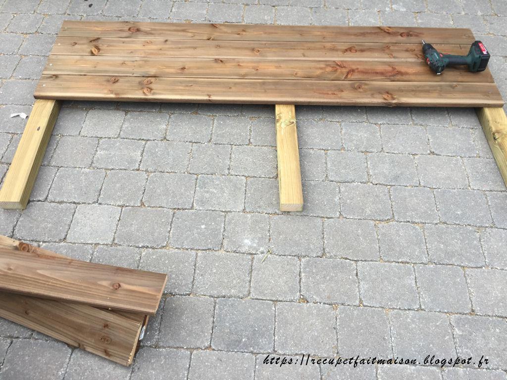 Récup et fait maison: des idées récup et déco: Fabriquer une table ...
