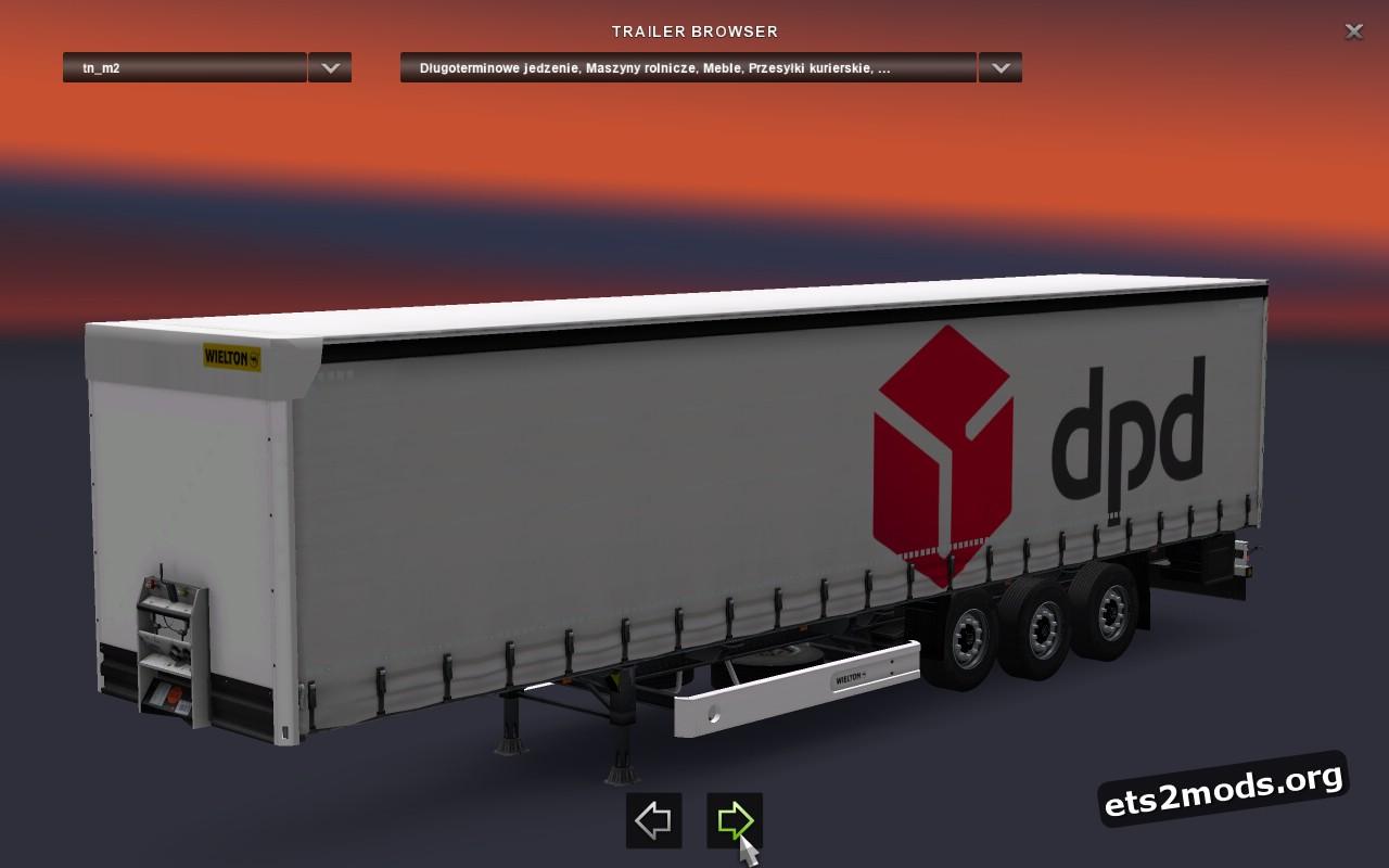 DPD Wielton NS3K M2 Trailer