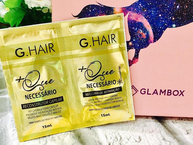 cupom glambox desconto- G hair +m que necessário