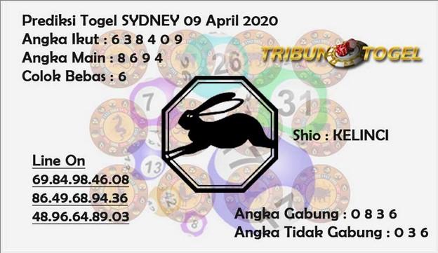 Prediksi Togel Sidney Kamis 09 April 2020 - Prediksi Tribun Hoki