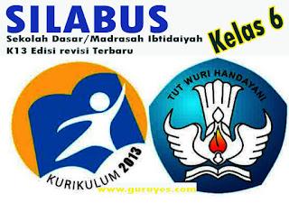 Silabus Pendidikan Agama islam K13 Kelas 6 SD/MI Semester 1 dan 2 Edisi Revisi Terbaru