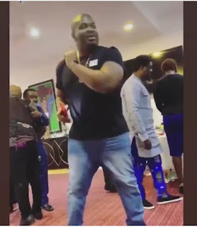 Don Jazzy Shows His Dance Moves, Fan Asks Him To Go And Marry 5